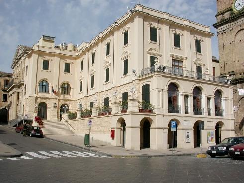 un'immagine del Palazzo di città