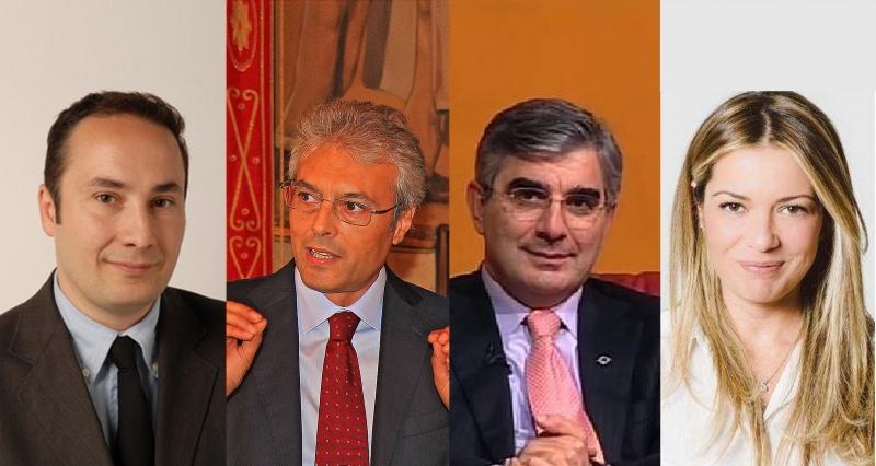 I 4 candidati alla presidenza della regione Abruzzo