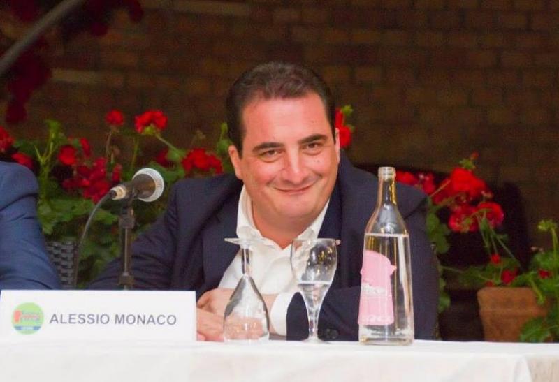 Alessio Monaco - Foto dalla sua pagina Fb