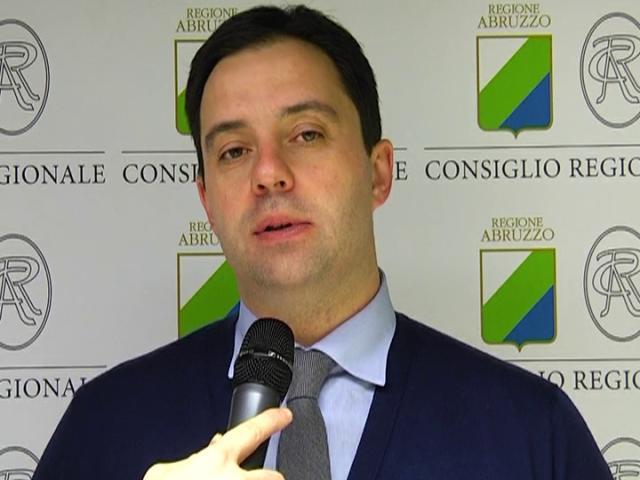 Il consigliere regionale Camillo D'Alessandro