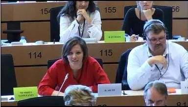 Daniela Aiuto al Parlamento Europeo