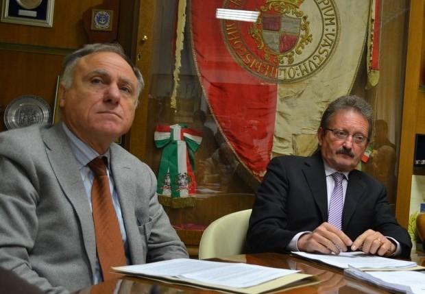 Mario Pupillo e Luciano Lapenna