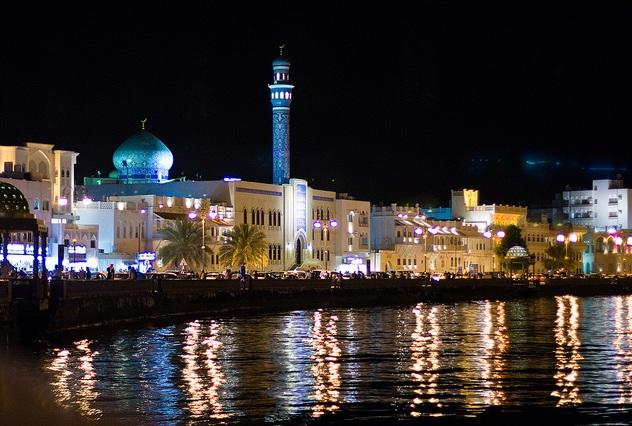 La città di Muscat in Oman