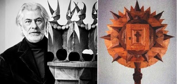 Paolo Spoltore e il nuovo tabernacolo di San Biagio