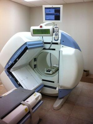 Gamma camera utilizzata per l'acquisizione delle immagini scintigrafiche