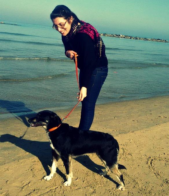 Celine vede per la prima volta il mare