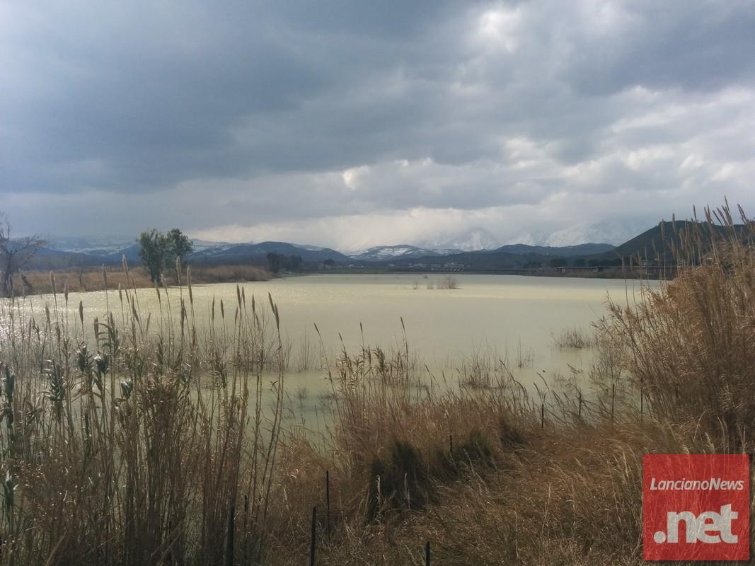 Il fiume Sangro il giorno dopo l'emergenza