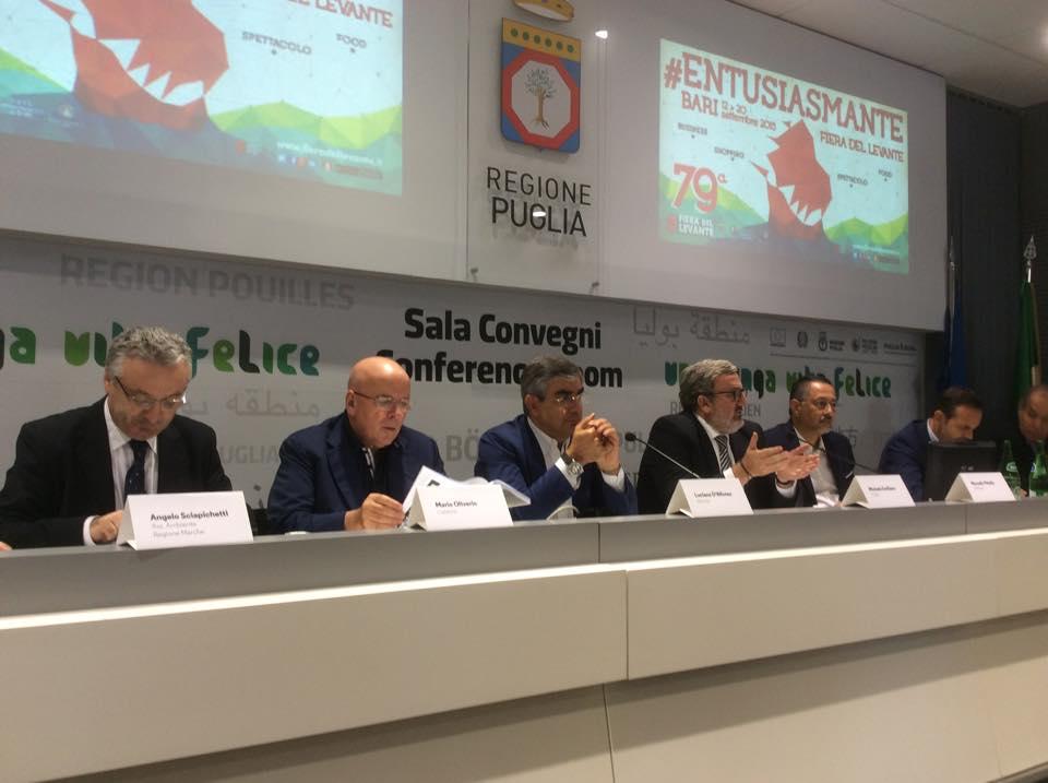 I Presidenti delle 6 regioni alla Fiera del Levante 2015