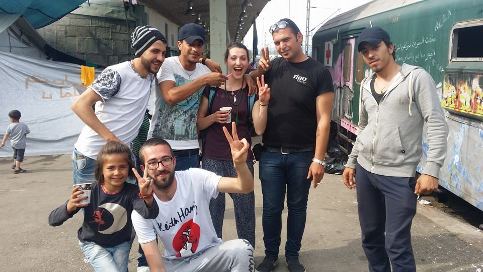 Mirko è il ragazzo in basso - foto Zona 22