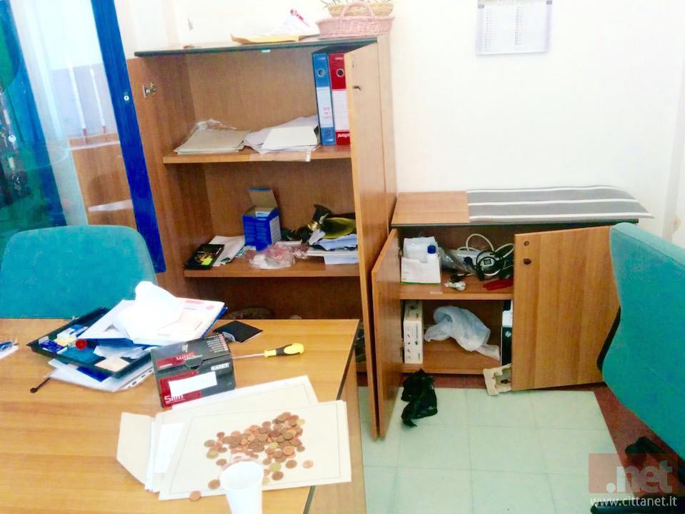 L'ufficio del centro anziani.